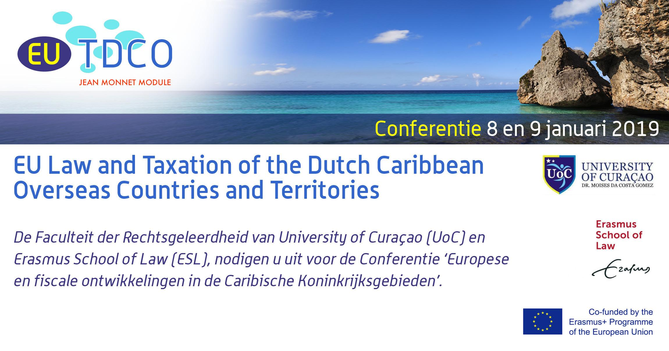 EU Law and Taxation of the Dutch Caribbean Overseas Countries and Territories @ University of Curacao